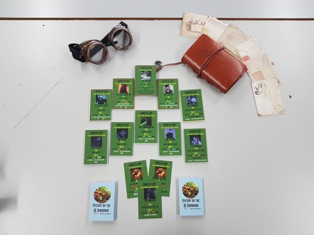 Ss sandbrook card game, social deduction