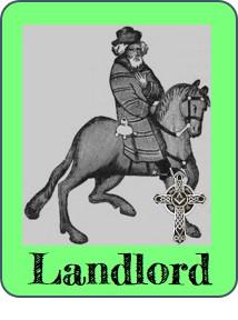 Landlord game piece