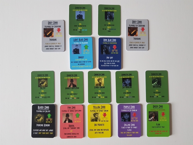 Game cards made professionally