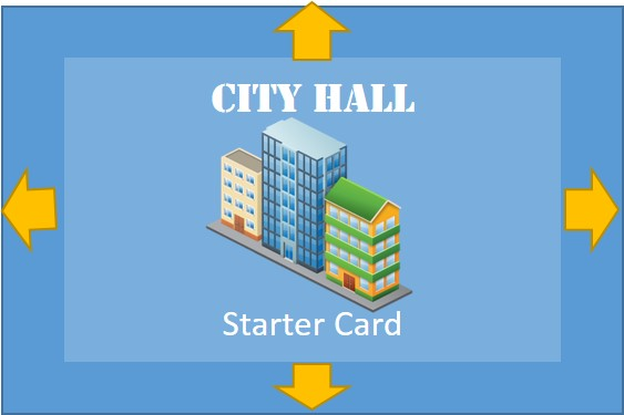 City hall starter deck card