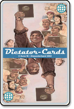 Dictator cards - student fun and games