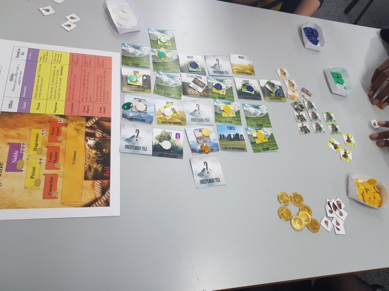 Most parts explored - players are building their economy